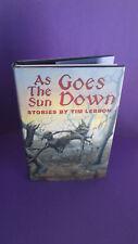 As the Sun Goes Down by Tim Lebbon 1st Edition HCDJ HORROR! Nite Shade Books