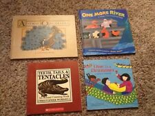Counting Books! Lot of 4, All New!  2 HB Animal Orchestra, One More River, More!