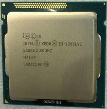 CPU Intel E3-1265Lv2 Xeon Processor (8M Cache, 2.50 GHz) Processor Tested CPU