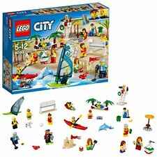 Lego City - Ensemble de Figurines la Plage 60153 Jeu construction