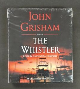 The Whistler by John Grisham 2016, 6 Compact Disc 7 1/2 Hours Cassandra Campbell