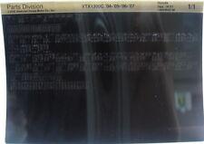 Honda VTX1300C 2004 - 2007 Parts List Microfiche h376