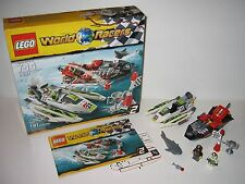 8897 LEGO Jagged Jaws Reef – 100% Complete w box & Instructions EX COND 2010