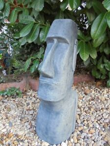 Gartenfigur, Moai, Skulptur, Rapa Nui, Osterinsel, Steinguss, Nui Tiki, Statue