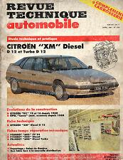RTA revue technique automobile n° 526 CITROEN XM DIESEL TURBO D12 D 12
