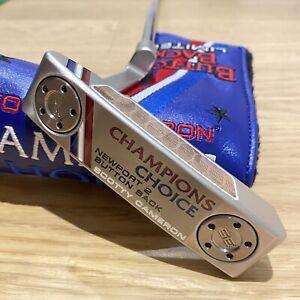 "Scotty Cameron Champions Choice Newport 2  LH Left Handed 34"" BRAND NEW RARE!!"