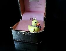 NEW Juicy Couture Yellow Duck charm  Very Rare and HTF!!