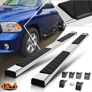 """For 09-20 RAM 1500/2500/3500 Quad Cab 5"""" Pad Side Step Nerf Bar Running Boards"""