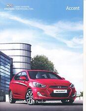 2015 Hyundai Accent and SE 14-page Australia Car Sales Brochure Catalog