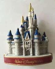 Walt Disney World Magic Kingdom Cinderella Castle Plastic Magnet New SHIPS FREE