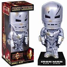 Marvel comics Iron Man MK I FILM BATTLE DAMAGED esclusivo Bobble Head Figure