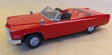 Japan/Korea Bandai King Size Cadillac 4-door convertable tinplated car
