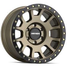 """Mayhem 8302 Scout 18x9 6x5.5"""" +0mm Gold/Black Wheel Rim 18"""" Inch"""