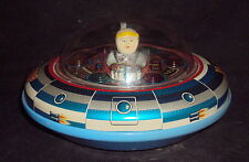Modern Toys Spaceship Flying Saucer X5 Japan 1970 Old Vintage Battery Operated