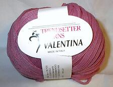 Trendsetter Yarns Valentina #72 (Dusty) Rose Yarn Loom Knit Crochet FS Offer