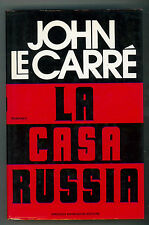 LE CARRE' JOHN LA CASA RUSSIA MONDADORI 1989 OMNIBUS I° EDIZ.