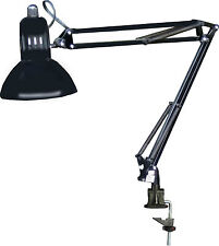 SWING ARM ADJUSTABLE LAMP FOR MANICURE NAIL TABLE BLACK BY DINA MERI