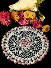 DOILY Crochet Patterns HAIRPIN LACE Pineapple LEAF Spider WEB Flower DOILIES