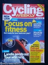 CYCLING WEEKLY - FOCUS ON FITNESS - MARCH 16 2006