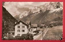 CPSM postcard HOTEL des Roches Chaîne des Aiguilles LES HOUCHES Haute Savoie A