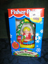 Fisher Price Little People Christmas Morning 1999 NEW Chimney Tree Presents Gift