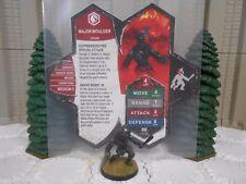 Heroscape Custom Major Moulder Double Sided Card & Figure w/ Sleeve Utgar