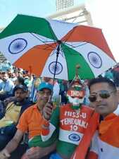 Cricket World Cup 2019 India Fan Umbrella