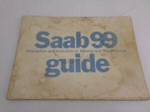 SAAB 99 Series Owner Guide Book