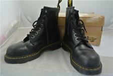 DOC MARTENS NEW STEEL TOE CAP BLACK  BOOTS SIZE  (9UK) 7 HOLE