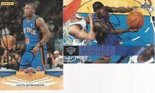 lot 2 nate robinson signed card autographed ny knicks nba auto dunk contest #4 4