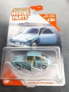 Matchbox Volkswagen Type 3 Fastback VW Moving Parts New 2020