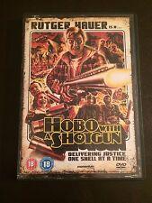Hobo With A Shotgun (DVD, 2011) rutger hauer, region 2 uk dvd