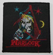 Warlock Patch , Vintage , rar , rare