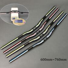 TOSEEK 31.8*600-720mm Full Carbon fiber Mountain Bike Handlebar MTB Riser Bars