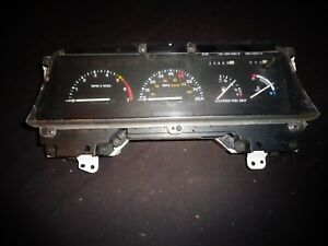 1986 1987 1988 1989 Ford Taurus Mercury Sable Instrument Cluster WITH Tachometer