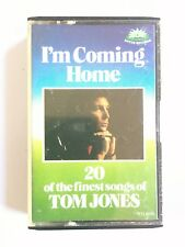 TOM JONES - I'M COMING HOME : 20 OF THE FINEST SONGS OF TOM JONES