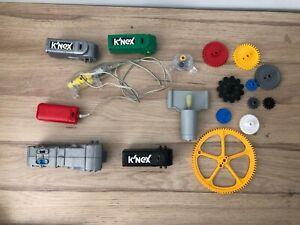 KNEX K'NEX Motors Cogs Gears Springs Coaster Sprockets Batteries *Multi Listing*