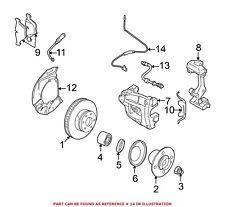 For BMW Genuine ABS Wheel Speed Sensor Front Left 34523420330