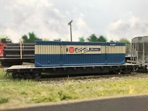 Missouri Pacific HO 50's Era Container with Decals Resin One Piece Body MPHS