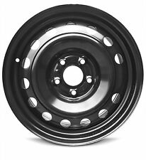 New 16x6.5 (14-17) Kia Rio 5 Lug Full-Size Black Replacement Wheel Rim 5x114.3