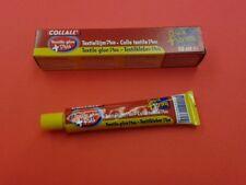 Collall Colla Tessile più 1 x 50ml Tubo, RAPIDO + forte si asciuga trasparente