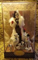Disney Designer Doll Collection CRUELLA DE VIL 101 Dalmatians Limited Ed. D23