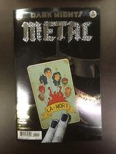 DARK NIGHTS METAL #5 (Synder & Capullo) 1ST PRINT Foil Embossed Cover!!