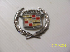 NOS GM Rear Quater Panel Fleetwood Badge Name Plate Emblem 83-84 Fleetwood