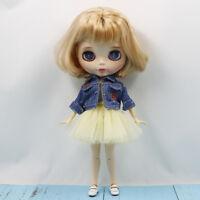 "Jeans Jacket Gouzy Dress Suit Clothes for 12"" Blythe 1/6 BJD DOD DD SD Dolls"