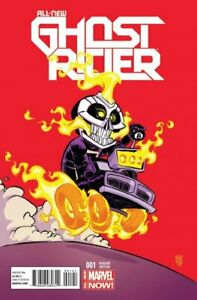 ALL-NEW GHOST RIDER ISSUE 1 - SKOTTIE YOUNG VARIANT 1st APPEARANCE ROBBIE REYES