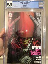 Batman: Three Joker #1 Variant Cover D CGC 9.8 Johns & Fabok! Red Hood L@@K