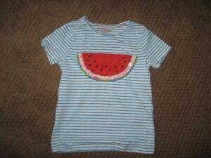 mini boden girls watermelon sequin size 7-8 tshirt