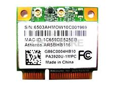 Qualcomm Atheros AR9382 AR5BHB116 WLAN WIFI Wireless Card 802.11 a b g n Half Mi