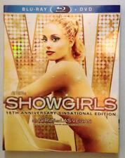 Showgirls Blu-ray/DVD 2 Disc 15th Anniversary Sinsational Ed W/Slipcover